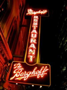 Berghoff sign