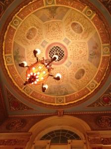 Patio ceiling medallion