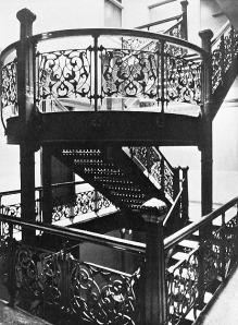 Monadnock Interior Staircase