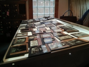 Glass slides from the UofC
