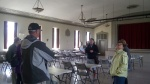A rare visit to the 2nd floor auditorium in the Kelvyn Park Fieldhouse